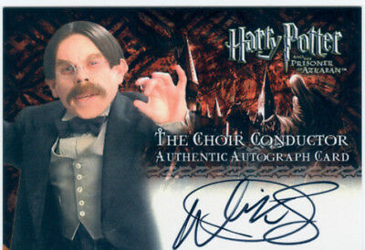 Harry Potter Prisoner Of Azkaban Update Tin Exclusive Autograph Warwick Davis