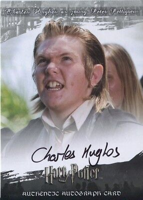 Harry Potter World Of 3D Series 2 Autograph Charles Hughes
