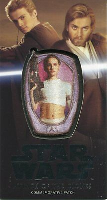 Star Wars AOTC 3D Widevision Silver Patch Card MP-7 Padme Amidala #25