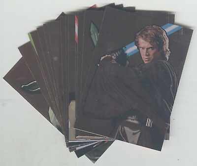 Star Wars Galaxy 5 Complete 15 Card Bronze Foil Chase Set