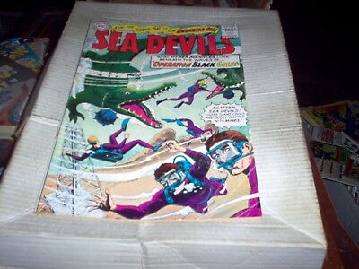 Sea Devils # 25 Operation Black Gold Issue Look Fn