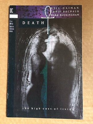 Death The High Cost Of Living #3 DC Comics