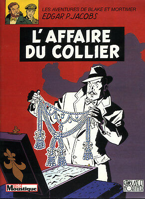 "Blake et Mortimer ""L'affaire du collier"" JACOBS+revue Neuf sous Cello !"