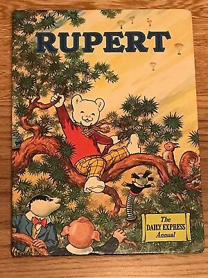 Vintage ORIGINAL RUPERT BEAR ANNUAL 1973; UNCLIPPED; No Annotations; CUBIE; VGC