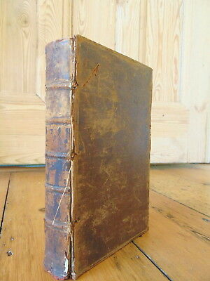 THE ANTIENT HISTORY of the EGYPTIANS, CARTAGINIANS... By ROLLIN 1754 - Leather