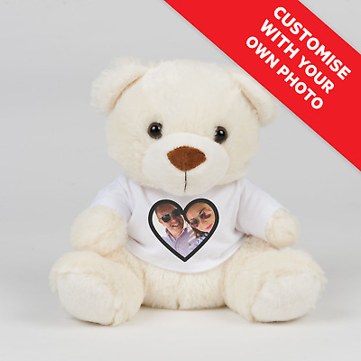 Personalised PHOTO Valentines Teddy Bear Gift | PHOTO VALENTINES GIFT