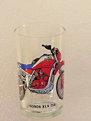 Verre Moutarde Collection Moto  Honda Xlv 750