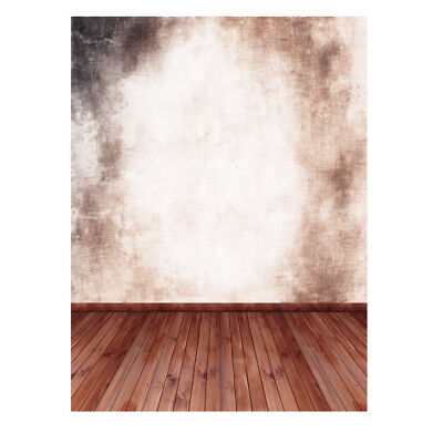 Andoer 1.5*2m Photography Backdrop Wall Wooden Floor Pattern for Studio OT W1E8
