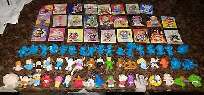 GARBAGE PAIL KIDS SERIES 1 2 MINIKINS MINI FIGURE LOT 51 DIFFERENT w/ STICKERS