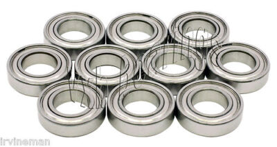 "Lot 10 Bearing R102 Ball Bearings 5/8"" 0.625"" inch Bore"