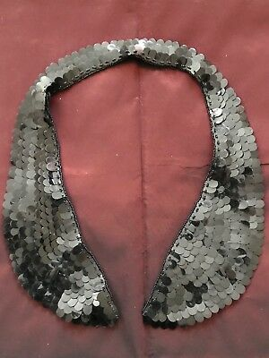 Authentic French antique 1930s handmade collar