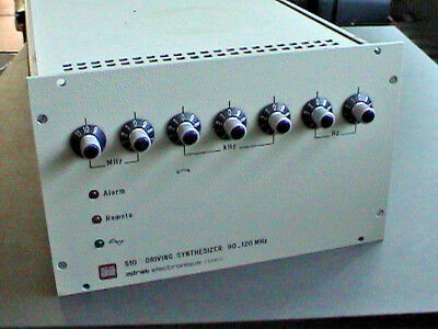 ADRET 510 Driving Synthesizer 90 - 120 MHz