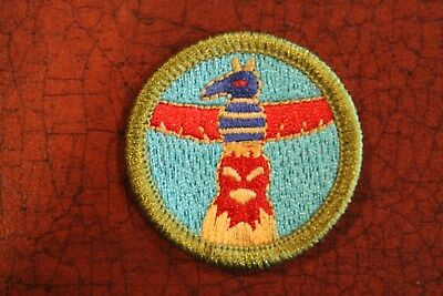 """Bsa """"wood Carving"""" Merit Badge - Official Boy Scouts"""