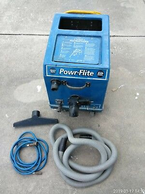 Power-Flite Super High Series Performance Dual Vac/Carpet Extractor PFX5S