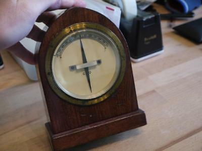 Superb Vintage Hardwood Cased Electric Gpo Post Office Telegraph Galvanometer