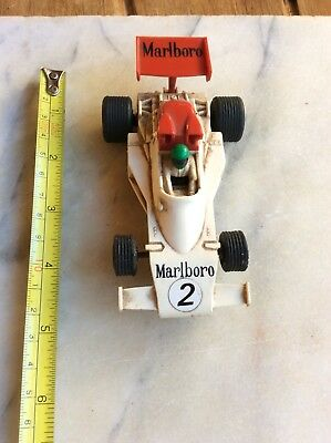 Scalextric Car Marlborough Racing Car Untested And In Play Worn Condition
