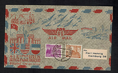1949 Berlin West Germany one Year Air Bridge Airlift FDC First Day Cover