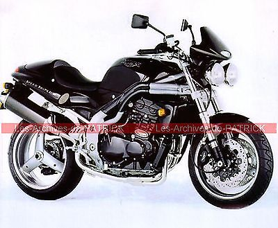TRIUMPH T509 900 Speed Triple  (885 T 509 ) 1997 Fiche Moto 000046