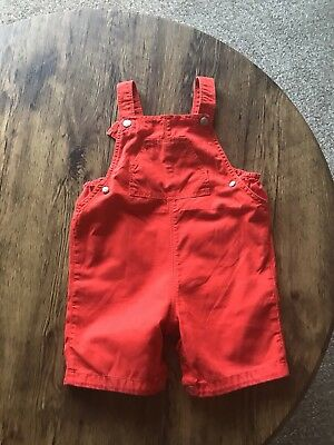 59317084bb19 PETIT BATEAU BABY Boys Red Short Dungarees 18 Months - £8.00 ...