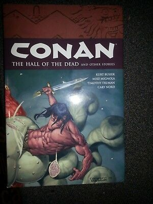 Conan The Hall of the Dead and other stories HARDBACK with dust jacket