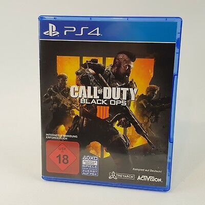 Call of Duty: Black Ops IV (Sony PlayStation 4, 2018) - USK 18 - SEHR GUT