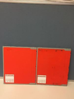 LOT OF 2 AGFA CRMD4.0T General 35 x 43 X-Ray Cassette FREE SHIPPING