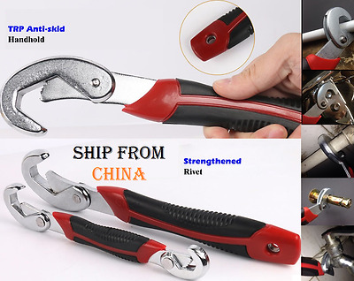 Universal Adjustable Wrench Allen Technology Snap & Grip Spanner ratchet key