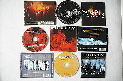 FIREFLY - Where You Gonna Run + After the Fire + Automatic - 3 Cds / John Thomas