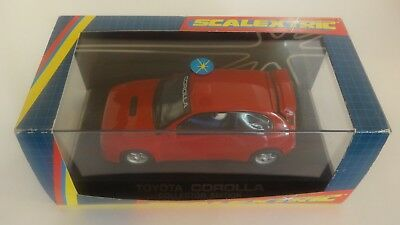 SCALEXTRIC C2205 TOYOTA COROLLA RED LTD EDITION 812/1000 LIGHTS  Nr MINT IN BOX