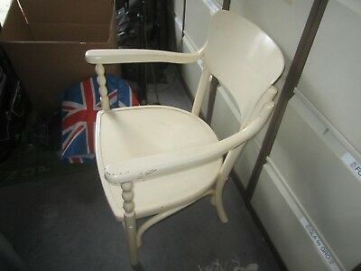 Painted wooden nursing chair