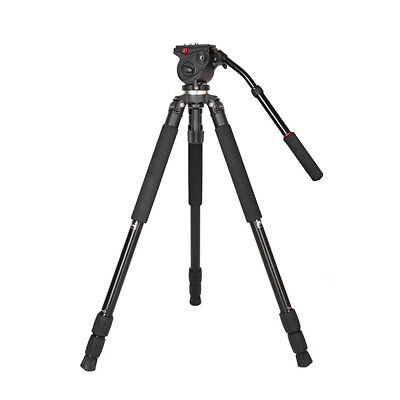 JY0509A Aluminum Alloy DSLR Photography Camera Camcorder Video Tripod with K2P4