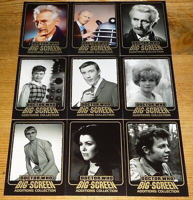 Dr Who Big Screen Additions - All 9 Gold Ink Chase Card Set by Strictly Ink 2008