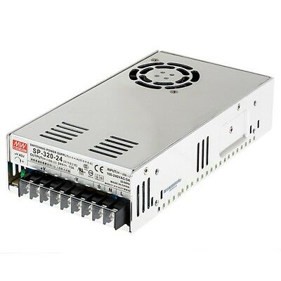 NEW Mean Well 320W AC/DC Power Supply adjustable  24V Switching PFC SP-320-24