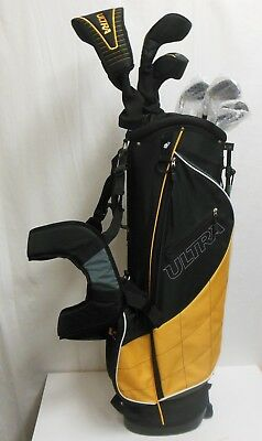 Wilson Ultra Men's Complete 13 Piece Right Handed Golf Club Set & Bag, Yellow