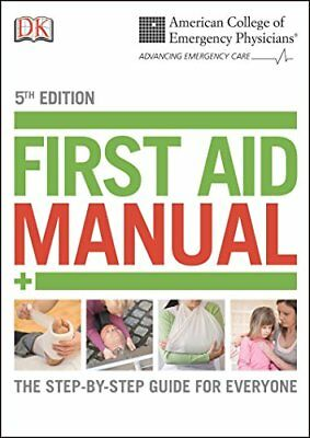 First Aid Manual by Dorling Kindersley Publishing
