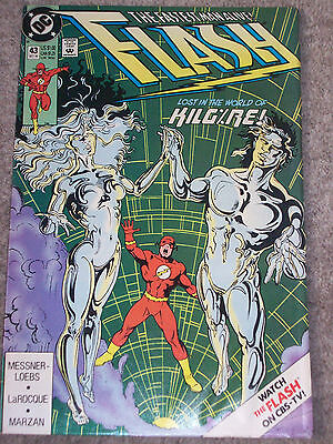 Flash  #43  - Dc Comics 1990