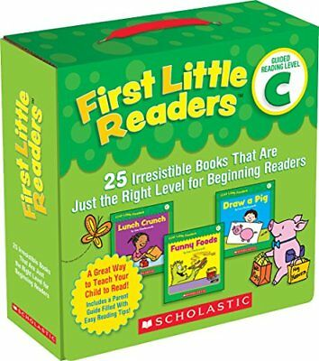 First Little Readers Parent Pack: Guided Reading Level C: 25 Irresistible Books