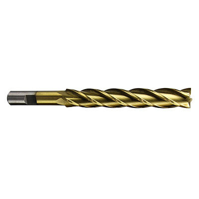 "5828-0626 5//8 X 1//2/"" 4 FLUTE TiN SINGLE END CENTER CUT END MILL"