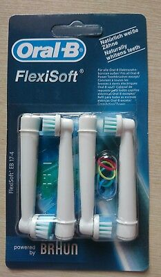 ORAL-B Toothbrush Heads Relpacement Flexisoft