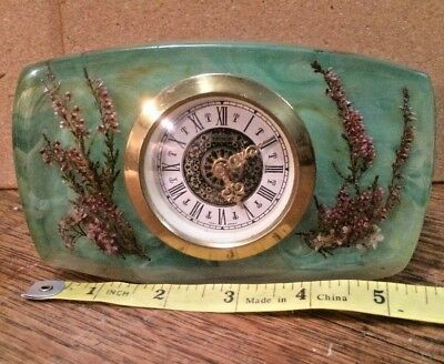 Vintage West German Mercedes Mantle Clock