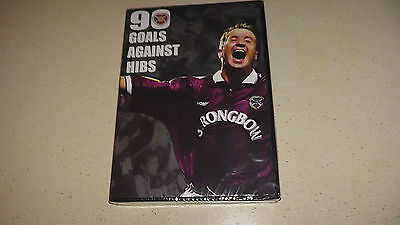 90 goals against hibs hearts fc heart of midlothian dvd      new and sealed