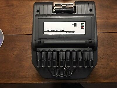 Stentura Stenograph Model 200 SRT Manual With Stand Bag  Deluxe Paper Tray
