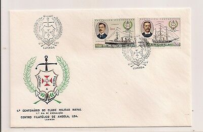1967 Angola Cover  Fdc? Honoring Naval/military