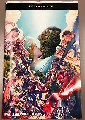 Fantastic Four #5 (#650) NM Alex Ross 1:100 Variant Wedding Issue!