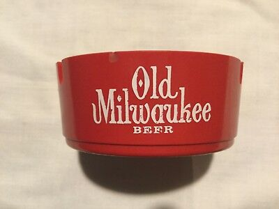 Old Milwaukee Beer Ashtray