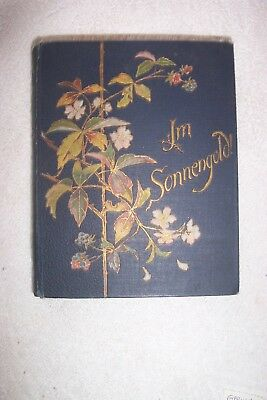 Vintage German Song or Poem Book Can't Find a Date