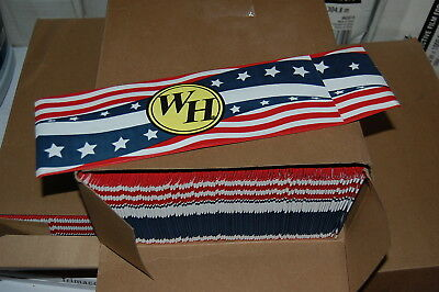 Case 100 Waffle House Cellucap July 4 American Flag Paper Grill Operators Hat