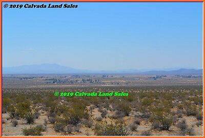 10 Acre View Property Barstow / Hinkley Area Low Property Taxes - Nr