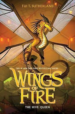 Wings of Fire #12: The Hive Queen by Tui T Sutherland Paperback Book Free Shippi