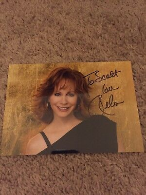 Reba McEntire Signed Autographed 5x7 Photo  Actor